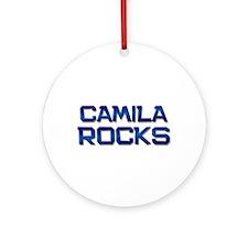 camila rocks Ornament (Round)