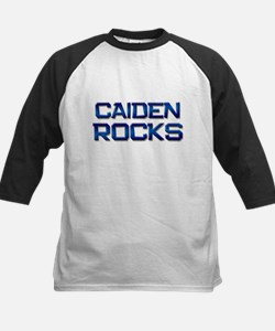 caiden rocks Kids Baseball Jersey