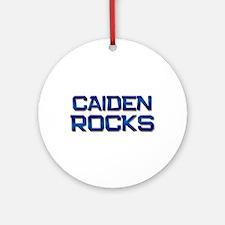 caiden rocks Ornament (Round)