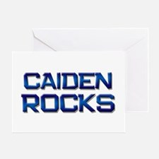 caiden rocks Greeting Card