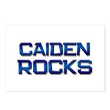 caiden rocks Postcards (Package of 8)
