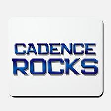 cadence rocks Mousepad
