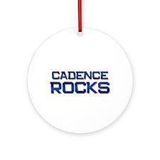 cadence rocks Ornament (Round)