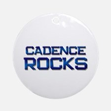 cadence rocks Ornament (Round)