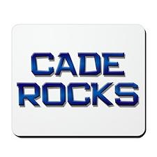 cade rocks Mousepad
