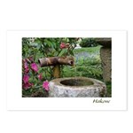 Bamboo Water Basin Postcards (Package of 8)