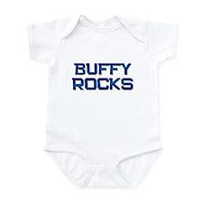 buffy rocks Infant Bodysuit