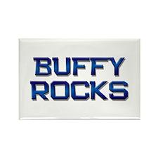 buffy rocks Rectangle Magnet