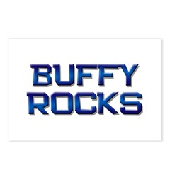 buffy rocks Postcards (Package of 8)