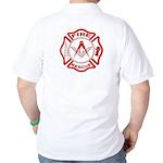 Masonic Fire & Rescue Golf Shirt