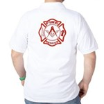 Masonic Fire & Rescue Golf Shirt