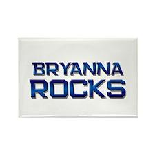 bryanna rocks Rectangle Magnet