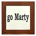 go Marty Framed Tile