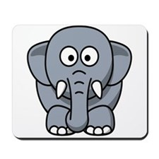 Cartoon Elephant Mousepad
