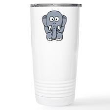Cartoon Elephant Travel Mug