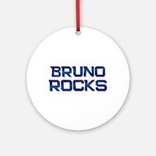 bruno rocks Ornament (Round)