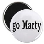 "go Marty 2.25"" Magnet (10 pack)"
