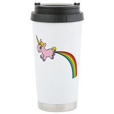 Rainbow Poop Travel Mug