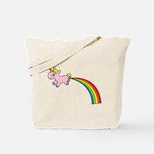 Rainbow Poop Tote Bag