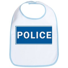 Police Theme Bib