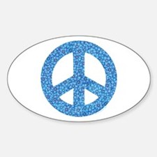 Flower Peace Sign Decal