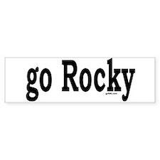 go Rocky Bumper Bumper Sticker