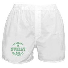 Property of Murray University Boxer Shorts