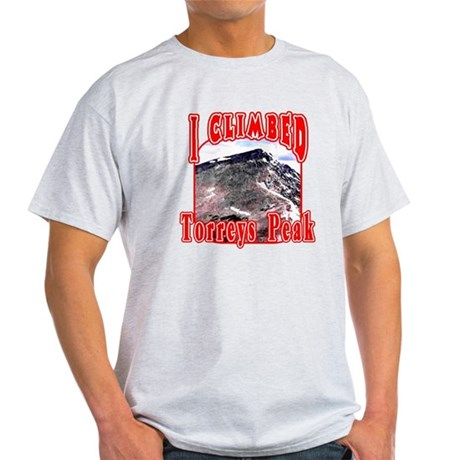 I Climbed Torreys Peak Light T-Shirt