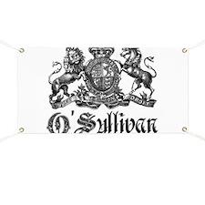 O'Sullivan Vintage Family Crest Banner