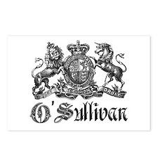 O'Sullivan Vintage Family Crest Postcards (Package