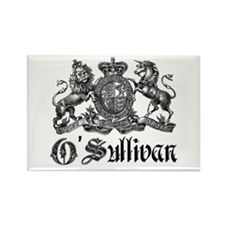 O'Sullivan Vintage Family Crest Rectangle Magnet (
