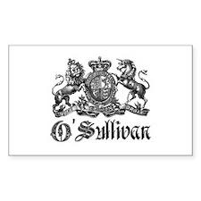 O'Sullivan Vintage Family Crest Decal