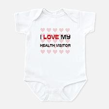 I Love My Health Visitor Infant Bodysuit