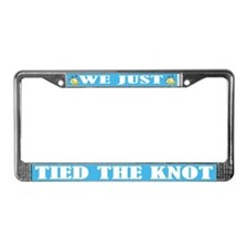 Funny Wedding License Plate Frame