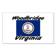 Woodbridge virginia Rectangle Decal