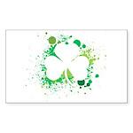 St. Patrick's Day Rectangle Sticker 10 pk)