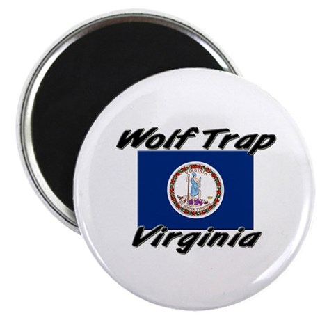 Wolf Trap virginia Magnet