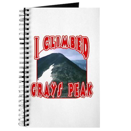 I Climbed Grays Peak Journal