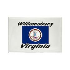 Williamsburg virginia Rectangle Magnet