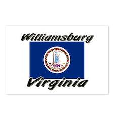 Williamsburg virginia Postcards (Package of 8)