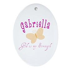 Gabriella Oval Ornament