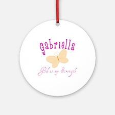 Gabriella Ornament (Round)