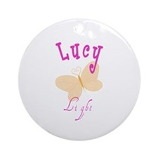 Lucy Ornament (Round)