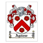Agnew Coat of Arms Small Poster