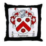 Agnew Coat of Arms Throw Pillow