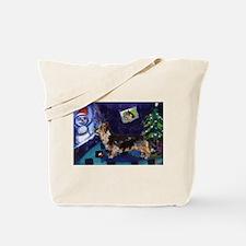 AUSTRALIAN TERRIER christmas  Tote Bag