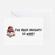 I've Been Naughty Greeting Cards (Pk of 10)