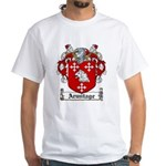 Armitage Coat of Arms White T-Shirt