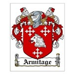 Armitage Coat of Arms Small Poster