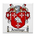 Armitage Coat of Arms Tile Coaster